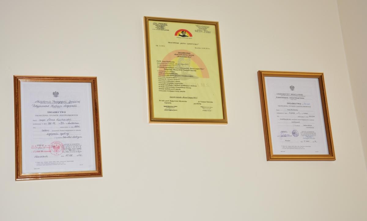dyplomy A. Kucharska